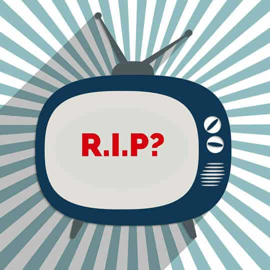Is television dead