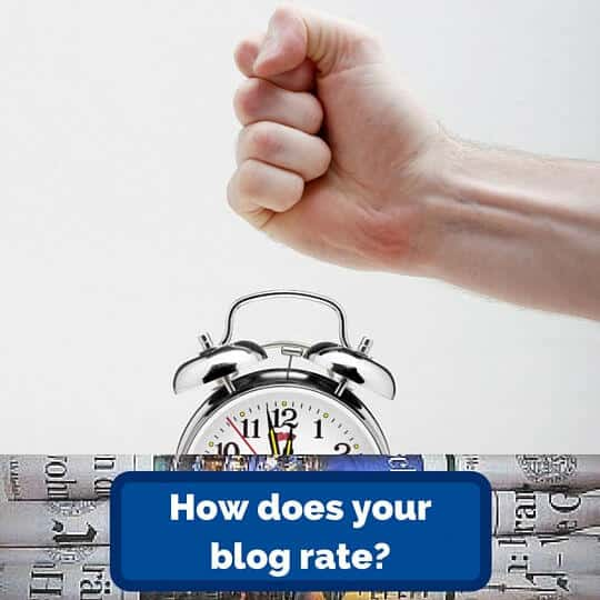 How does your blog rate?