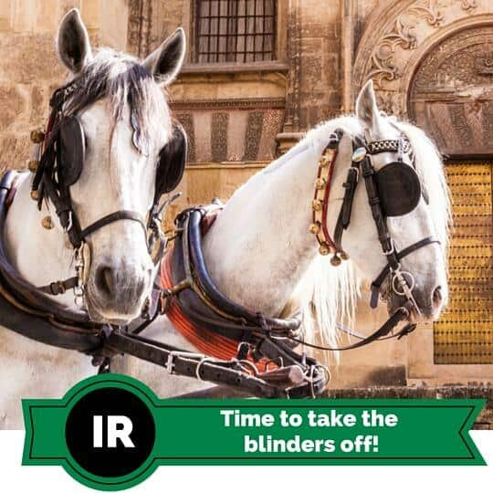 Investor Relations, it's time to take the blinders off