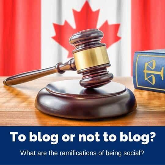 Social media legalities