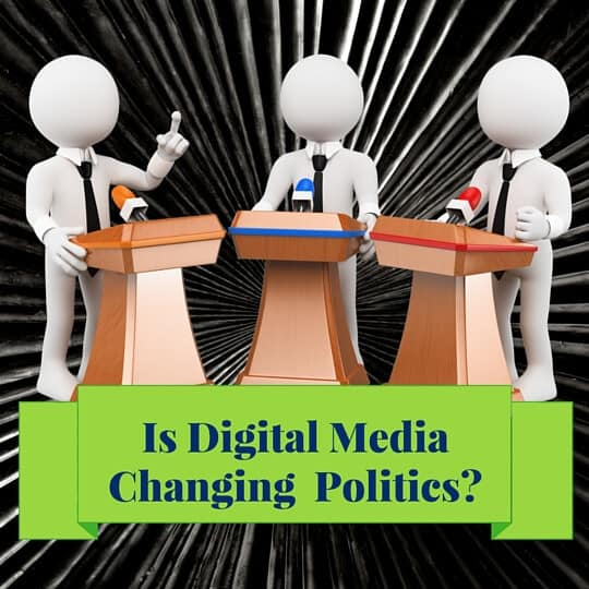 Is Digital Media Changing Politics?