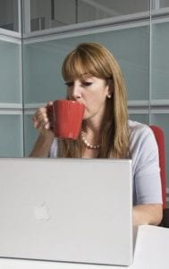 Women are prominent in social media and online.