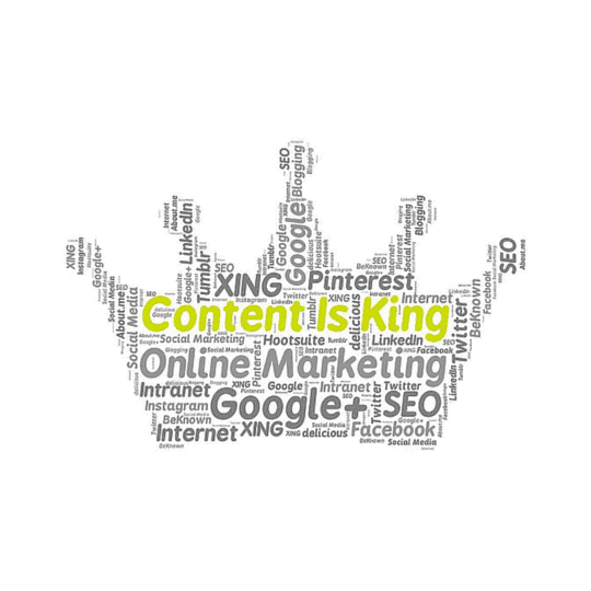 Content is king in content marketing