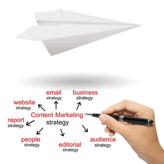 featured image strategy paper plane