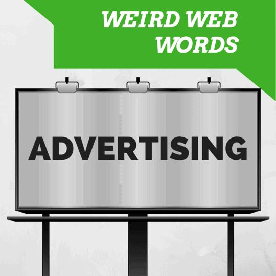 Digital advertising jargon