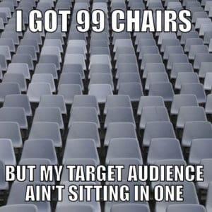 Copywriting target audience