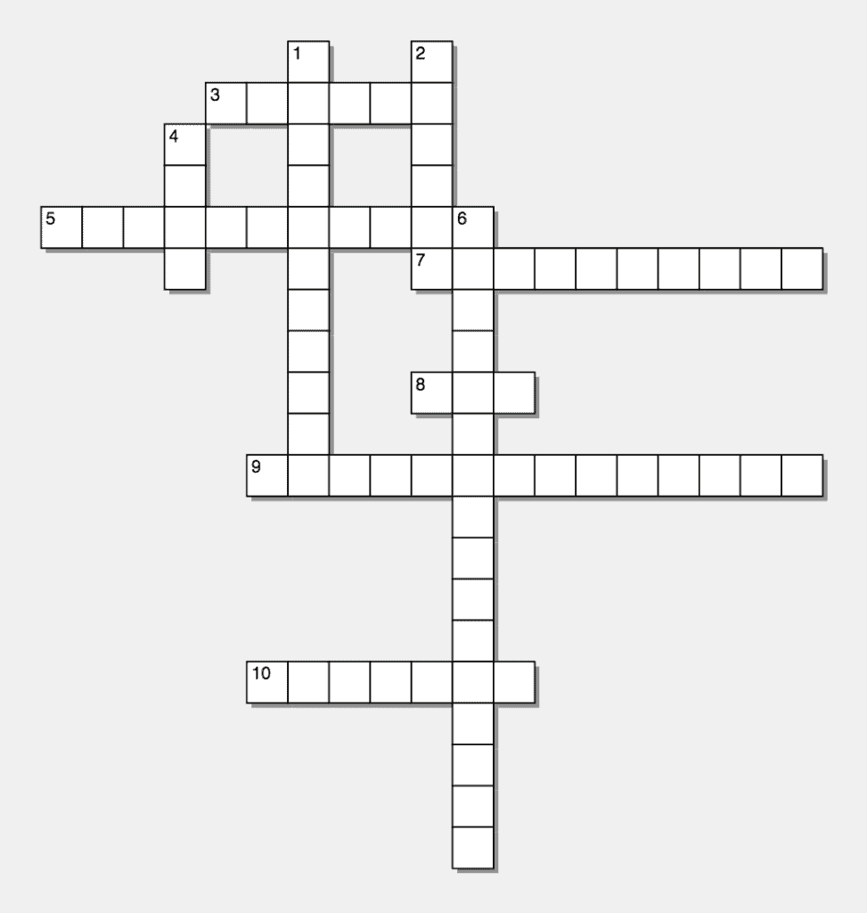 digital marketing crossword