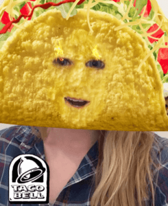 Snapchat content Taco Bell