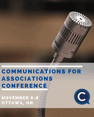 communications for associations conference event