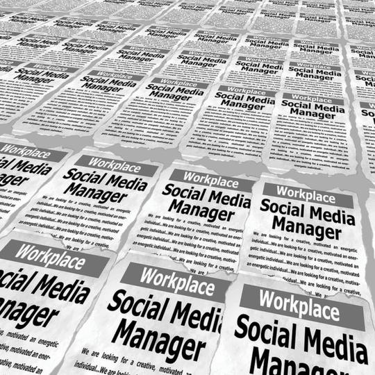 social media managers job