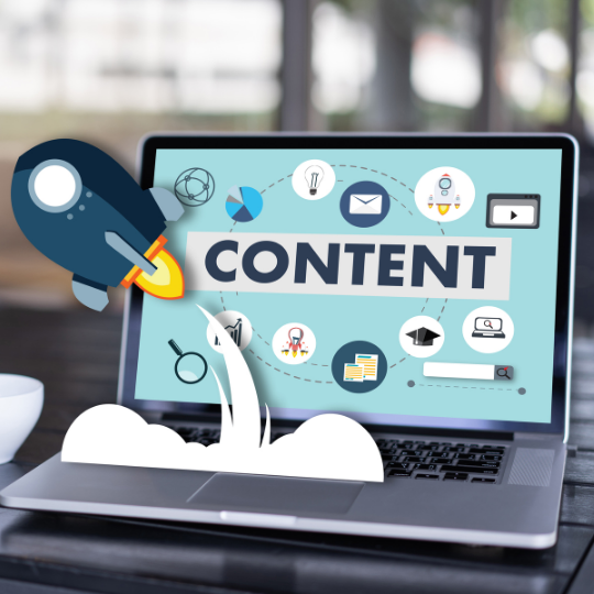 refresh your content strategy open laptop